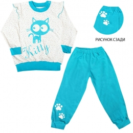 Пижама КИТТИ , байка - 100%хлопок