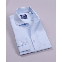 Рубашка Bogi классическая Голубая
