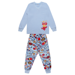 Пижама Габби PGM-19-10 голубой
