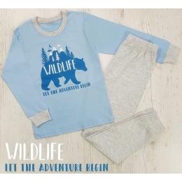 Пижама Кена Wild Life Голубая