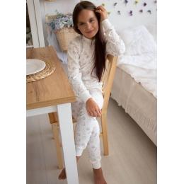 Пижама Овен Сияние-1 Молочная