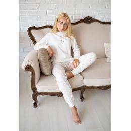 Пижама Овен Сияние-3 Молочная