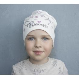 Шапка Кито Принцесса Молочная