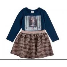 Платье стрейч-кулир синий