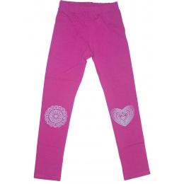 Лосины Robinzone Узоры на коленях Фиолетовые