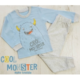 Пижама Кена Cool Monster Голубая