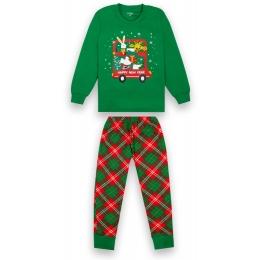 Пижама Габби PGМ-20-30-1 Зеленая с красным