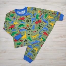 Пижама Кена Динозавры на прогулке Зеленая