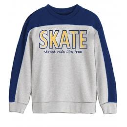 Кофта Robinzone Скейт Светло-серая