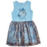 Платье Garden Baby Парфюм Голубое