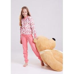Пижама Овен Клубника-2 Розовый