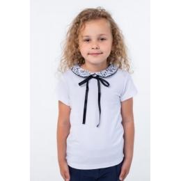 Блуза короткий рукав Vidoli Белый