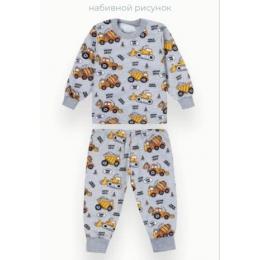 Пижама Габби PGM-21-17 Серый