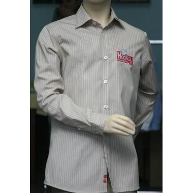 Рубашка для мальчика (бежевая), 158-164