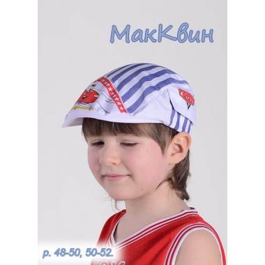 МакКВИН, кепка для мальчика