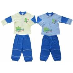 Пижама ДИНО для мальчика, интерлок - 100% хлопок