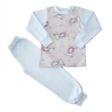 Пижама для мальчика, футер с начесом-100%хлопок