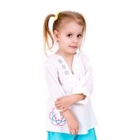 Сорочка пляжная для девочки
