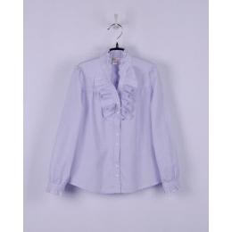 Блузка сирень, длинный рукав
