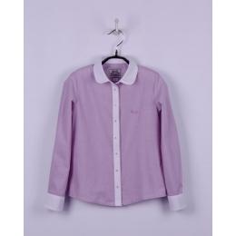 Блуза, сиреневая полоска