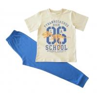 Пижама ЛЕТО-2, супрем - 100% хлопок