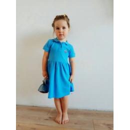 ПЛ-51 Платье ПОЛО-2, лакоста-100% хлопок