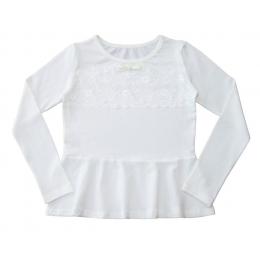 Блуза БАСКА-2,длинный рукав,  стрейч-кулир - 95% хлопок
